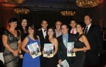 Premiación y compartir en noche de Gala